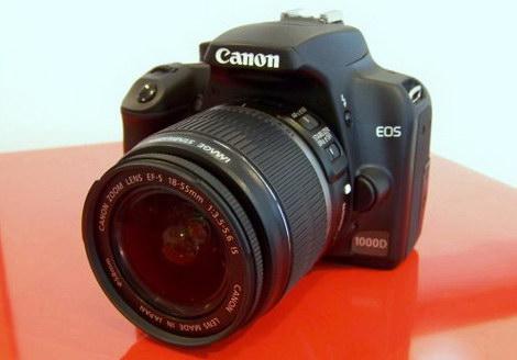 Фотик Canon EOS 1000D отзывы