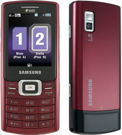 Samsung GT-C5212 DUOS Ruby Red отзыв