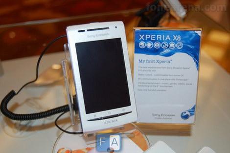 Sony Ericsson Xperia X8 отзывы