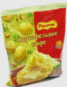 Отзывы о быстрорастворимом картофельном пюре Роллтон