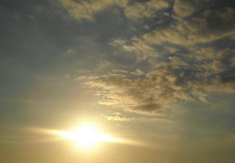 Nikon Coolpix L20 фото закат