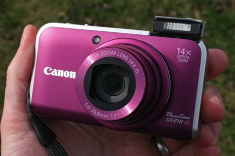 Отзывы о Canon PowerShot SX210 IS
