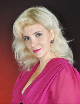 Блузка цвета фуксия из Quelle